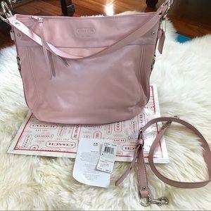 Pink Leather Coach Bag (BNWT)